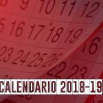 Calendario Preferente 2018/2019