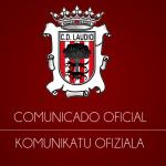 Comunicado Oficial CD Laudio