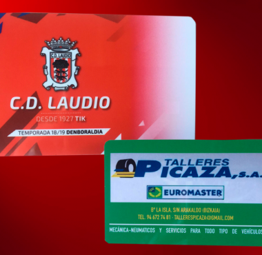Carnet socio CD Laudio